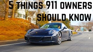 Download 5 things Porsche 911 owners should know - also Boxster + Cayman Video
