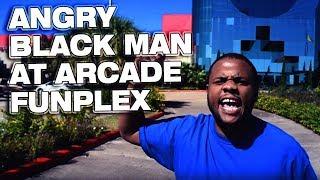 Download ANGRY BLACK MAN INSIDE OF ARCADE EXTRAVAGANZA! @SIGGAS Video