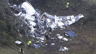 Download 5 People Incredibly Survive Plane Crash That Killed 76 Including Soccer Stars Video