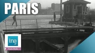 Download Paris gelé en 1954, on traverse le canal Saint-Martin à pied | Archive INA Video
