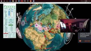 Download 12/06/2016 - New Earthquake progression map - Which way does the Earth really ″move″? Video