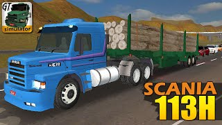 Download Grand Truck Simulator - Scania 113H e Reboque de Troncos Video