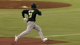 Download 2006 ALDS Gm2: Kotsay hits inside-the-park home run Video
