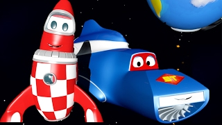 Download Carl the Super Truck and the Rocket in Car City   Trucks Cartoon for kids 🚚💨🚀 Video