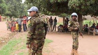 Download Minusca's military observers intelligence gathering Video