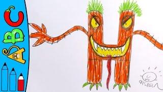 Download H for Halloween - Learn To Draw ABC | Øistein Kristiansen Video