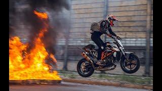Download Rok Bagoros - Ride and Slay | KTM Duke 690 | drifts, explosions, fullthrottle Video
