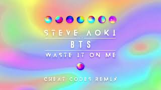 Download Steve Aoki - Waste It On Me feat. BTS (Cheat Codes Remix) [Ultra Music] Video