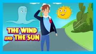 Download THE WIND AND THE SUN - Kids Hut English Stories || The Sun & The Wind - Traditional English Story Video