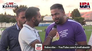 Download Sandeep Nangal Ambia - Best Stopper Union City Kabaddi Cup 2018 Video