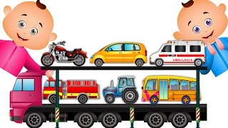 Download Learn Transport Vehicles & Many More For Children   JamJammies Nursery Rhymes  Kids Songs Collection Video