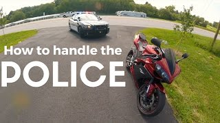 Download Best cop ever! getting pulled over on a Yamaha R1 Video