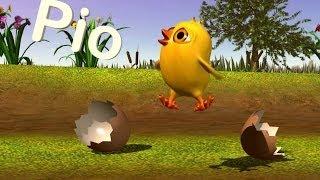 Download El pollito Pío 3D - Cantan Los Pollitos Video