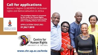 Download Master's degree in human rights and democratisation in Africa Video
