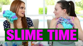 Download MAKING SLIME FOR THE FIRST TIME W/ ROSANNA PASINO! Video