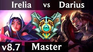 Download IRELIA vs DARIUS (TOP) /// NA Master /// Patch 8.7 Video