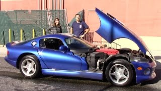 Download I Taught My Friend to Drive Stick Shift In My Dodge Viper (And Then It Broke Down) Video