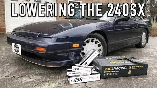 Download Lowering the 240: Installing New Coilovers & Adjustable Suspension Arms! Video