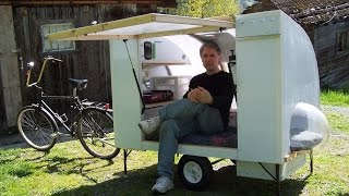 Download Bugout bicycle camper Video