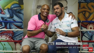 Download Corner: Rodrigo Minotauro entrevista Anderson Silva Video