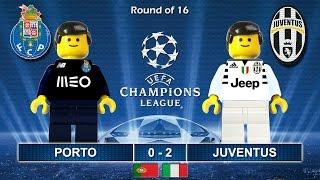 Download Porto vs Juventus 0-2 • Champions League 2017 (22/02/2017) goal highlights Lego Football Juve Video