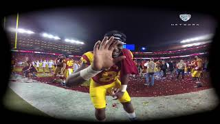 Download Experience the 2017 Pac-12 Football Championship Game celebration with USC football in VR180 Video