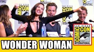 Download WONDER WOMAN Comic Con Panel - Gal Gadot, Chris Pine, Connie Nielsen, Patty Jenkins Video