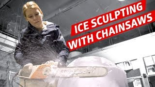 Download Learning to Carve Ice with Ice Sculptor Shintaro Okamoto — How to Make It Video