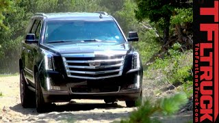 Download 2015 Cadillac Escalade Off-Road Review: Slade Finally Gets Dirt Under the Nails Video