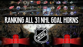 Download Ranking All 31 NHL Goal Horns (2017-2018 Edition) Video