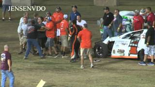 Download Big fight at the 59th running of the Hutchinson Nationals 7/25/15 Video