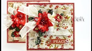 Download Traditional Christmas Cards Tutorial - Wild Orchid Crafts Video