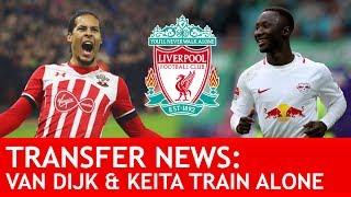 Download VAN DIJK AND KEITA BOTH TRAINING ALONE! Plus Andy Robertson Signs: Breaking #LFC Transfer News Video