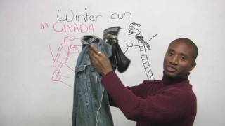 Download English Vocabulary - Winter Clothing Video