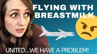 Download Flying With Breastmilk | The United Airlines agent said WHAT?! - DO BETTER FOR MOMS, UNITED! Video