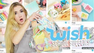 Download BACK TO SCHOOL SUPPLIES FROM WISH!! Video