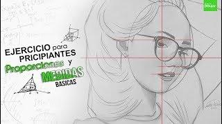 Download EJERCICIO para PRICIPIANTES en los DIBUJOS PROPORCIONES Y MEDIDAS SIMPLES Video
