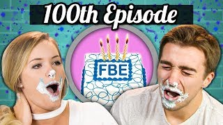 Download 100TH EPISODE! - ICE CREAM CAKE CHALLENGE! | College Kids Vs. Food Video