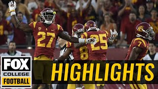 Download Texas vs USC | Highlights | FOX COLLEGE FOOTBALL Video