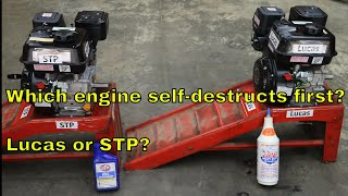 Download Which engine self-destructs first? Lucas or STP? Video