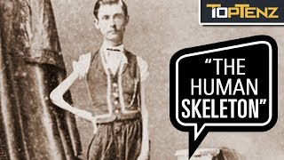 "Download P. T. Barnum's 10 Most Famous Human ""Freak"" Show Attractions Video"