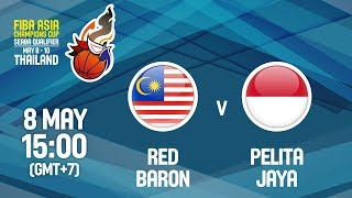 Download Red Baron (MAS) v Pelita Jaya (INA) - Full Game - FIBA Asia Champions Cup 2018 SEABA Qualifier Video