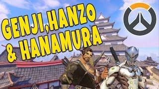 Download HANZO, GENJI OG HANAMURA - Overwatch Video
