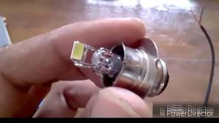 Download bagaimana membuat BOHLAM menjadi Lampu LED mudah dan murah Video