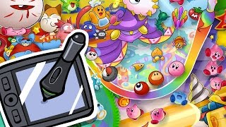 Download Time-Lapse Drawing - Kirby's 20th Anniversary Video