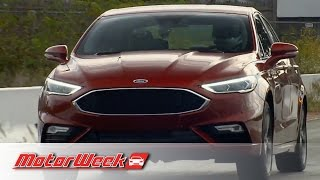 Download Road Test: 2017 Ford Fusion Sport - A Twin-Turbo V6 Fusion Video