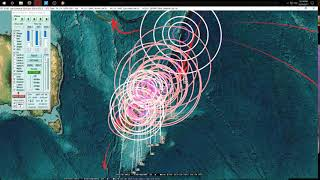 Download 10/19/2017 - East Coast Earthquake as expected - Pacific EQ pressure spreading across plates Video