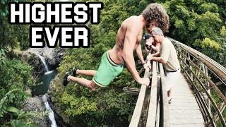 Download HIGHEST CASTAWAY EVER! Maui Cliff Jumping (4K) Video