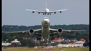 Download AIRBUS 380 BEHIND YOU! - AIRBUS 350 and A380 Air Show at Farnborough Video