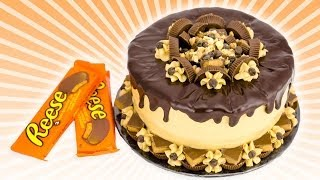 Download Chocolate Peanut Butter Cake: Reeses Cake from Cookies Cupcakes and Cardio Video